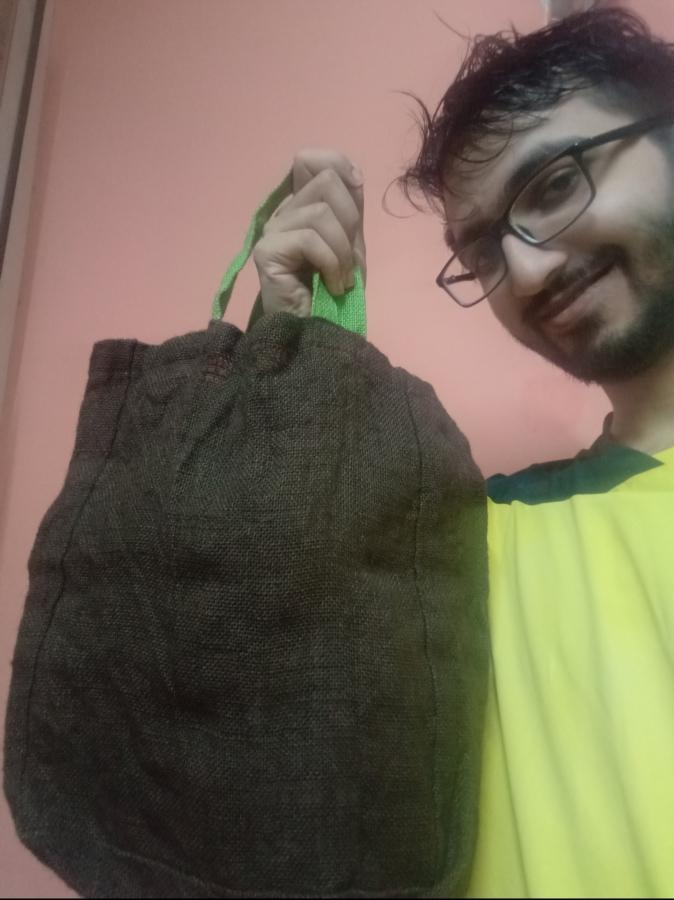 I use cloth bags!