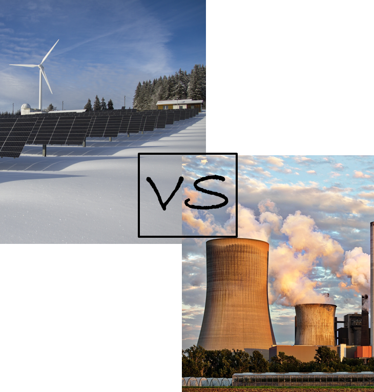 solar and wind vs nuclear: is this the right comparison?