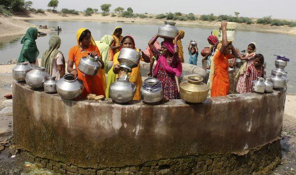 village wells common resource