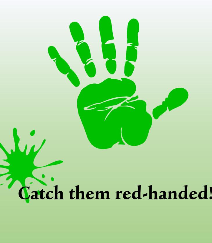 check for greenwashing